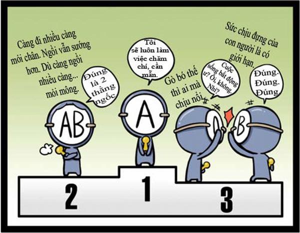 Tính cách người nhóm máu A trong phương diện xã hội