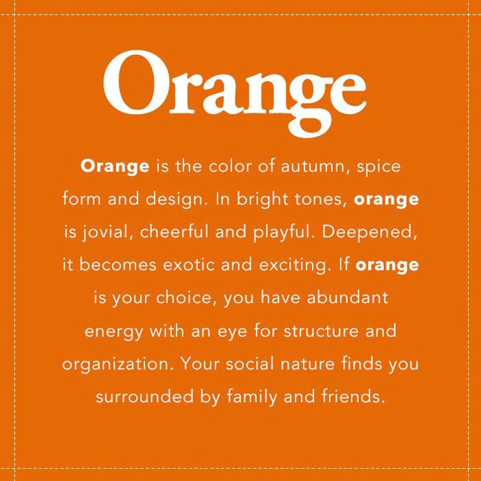 Ý nghĩa màu cam là gì | Màu cam tượng trưng cho điều gì