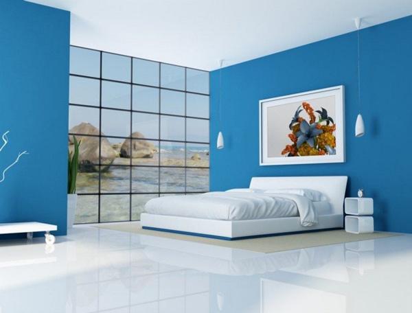 Hiệu ứng tâm lý màu xanh trong thiết kế nội thất