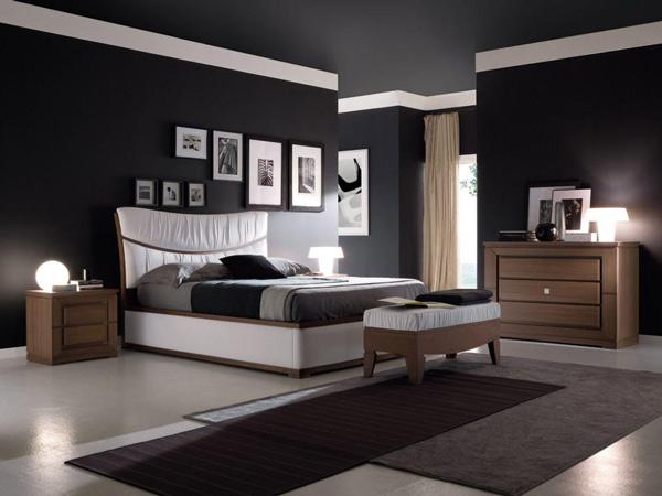 màu đen trong thiết kế nội thất
