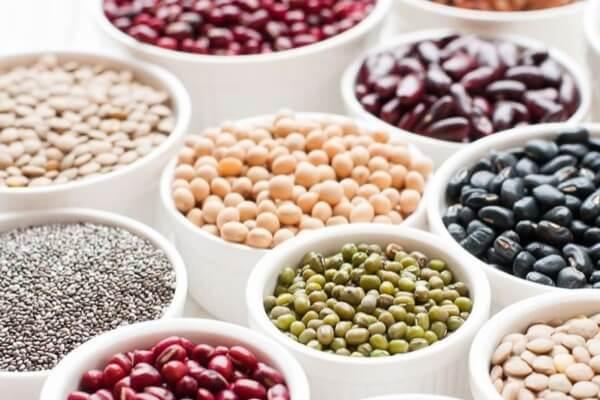 Đậu chứa nhiều collagen