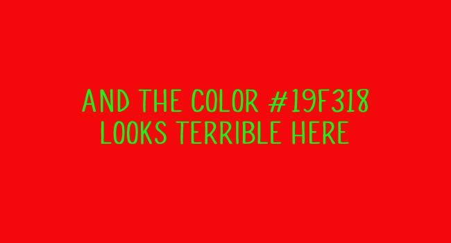 Ý nghĩa của màu sắc trong thiết kế